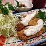 蘭 - ランチ✨チキン南蛮定食