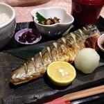 蘭 - ランチ✨鯖の塩焼き定食