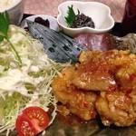 蘭 - ランチ✨日替り鶏唐揚げチリマヨソース