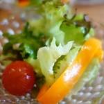 Bumbuku - (2014/4月)セットのサラダ