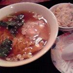 大連飯店 - ラーメン+小炒飯