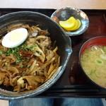 27500776 - 上州麦豚舞茸丼(¥720)