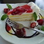 葉菜豆 - 料理写真:ケーキ