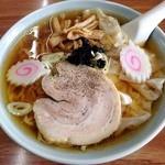 ふく屋食堂 - 料理写真:ワンタンメン 2014年5月