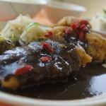 西洋フード - 豚天黒ゴマソース定食