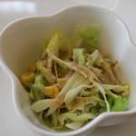 神戸サンドウィッチ工房 - キャベツのサラダ