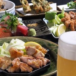 全70種飲み放題150分料理8品5000円コースが1番人気!