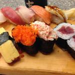 秀吉 - にぎり寿司、アップ。