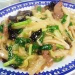 丸玉食堂 - 肝煎り付け(豚キモ炒め)