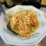 平和軒 - 2014年5月24日(土) Aセット[焼飯+ラーメン](1130円)の焼飯