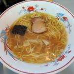 平和軒 - 2014年5月24日(土) Aセット[焼飯+ラーメン](1130円)のラーメン