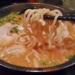 麺処 壱萬屋 - 辛味噌ラーメン