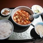 27512193 - 麻婆豆腐セット 780円