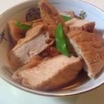 豆腐茶屋 佐白山のとうふ屋 - 生揚げを煮ました。