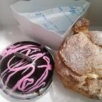 27515650 - シュークリーム180円とマスカルポーネのケーキ380円♪
