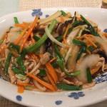 広味坊 - 野菜たっぷりあんかけ焼きそば 1512円