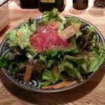 ラーメン ミラーボウル - サラダ