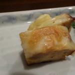 旬喜酒楽 はる田 - 前菜3種盛合せ:あん肝真薯