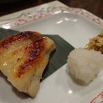 旬喜酒楽 はる田 - 焼き物:銀だら西京焼き