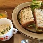 ニムカフェ - lunch earlier, blt ごちそうさま!