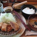 27523253 - ロースカツ定食