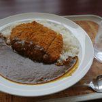 カレー&カフェ カレー王子 - 豚カツカレー(辛口)900円