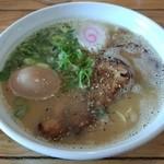 大金星 - 2014/05鶏白湯・塩ラーメン