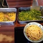 丸亀製麺 - 無料の薬味