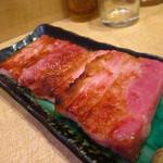中村屋 - 厚切りベーコン350円