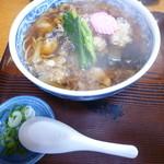 厚岸 藪蕎麦 - 料理写真:かきそば1200円