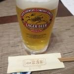 サゴー 浪漫舘 - 生ビール