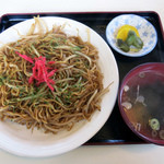 大廣食堂 - 料理写真:もやし焼きそば 550円