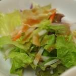中国菜 香味 - 四川麻婆豆腐ランチ サラダ