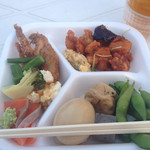 カリーノ宮崎ビアホール - 料理はバイキング形式です。