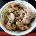 香川屋 - 肉皿(肉ぶっかけ冷用)