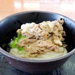 香川屋 - 肉ぶっかけ冷