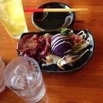 島のごちそう いるむてぃや - 紫芋のサラダ