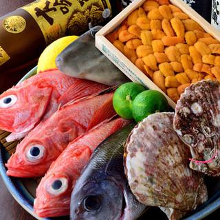 毎日仕入れる旬のお魚!ぜひご来店くださいませ♪
