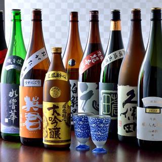 日本酒の品揃え、自信あり!新鮮食材と相性ばっちり☆