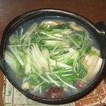 食彩や 魚太郎 - 牡蠣ハリハリ鍋:素材の旨みに加えて塩の甘みのバランスが絶品です!