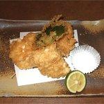 食彩や 魚太郎 - 真鱈の白子天ぷら:生でも食せるものを贅沢にも天ぷらにしてしまいます。