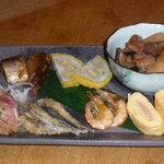 わらび - 郷土料理ランチ 梅 刺身