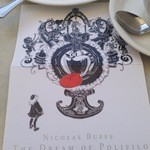 カフェ ダール - ニコラ ビュフ:ポリフィーロの夢のパンフ