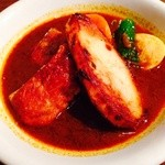カレー リーブス - チキン焼きポテトスープカレー!