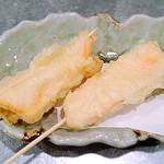 サーモンチーズ天麩羅