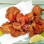 鶏の天麩羅(柚子こしょう風味)