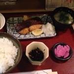 三友 - 焼き魚定食(目鯛)760円