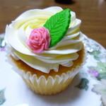 ロンドン カップケーキ - ダブルバニラ