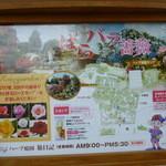 ハーブ庭園 旅日記 ソフトクリーム売店 -