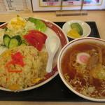 ぎん八 - ランチ炒飯